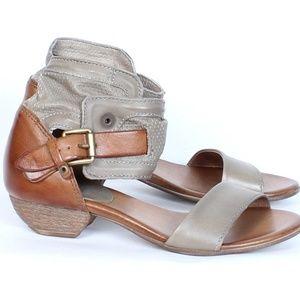 Miz Mooz Cali stone/saddle leather EU38/US8